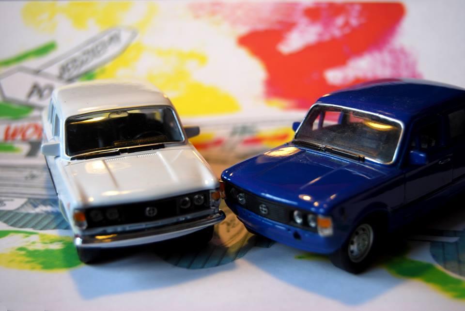 Resorak Fiata 125p - inspiracja