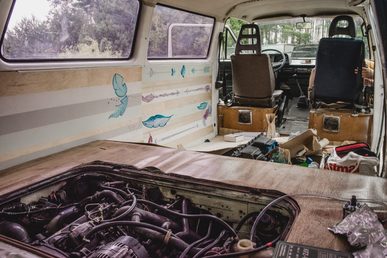 VW T3 podłoga