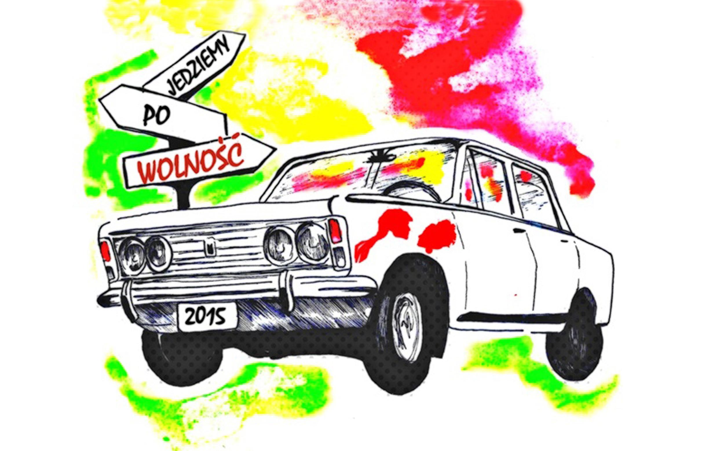 Logo wyprawy Fiatem za światem 2015