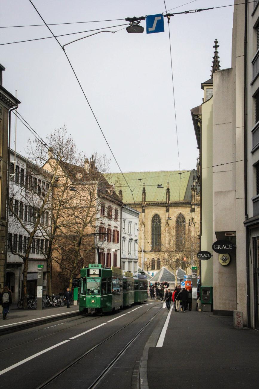 Komunikacja miejska w Bazylei