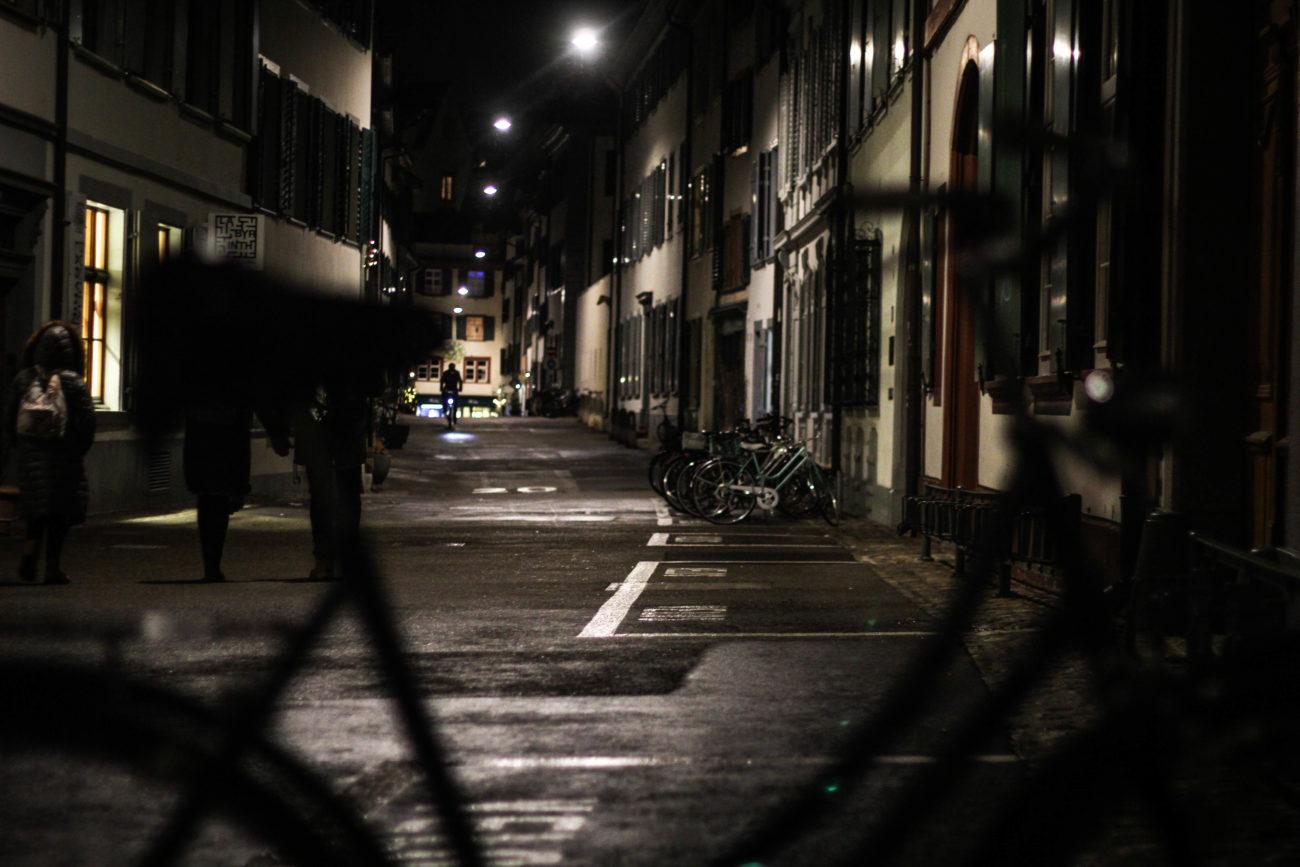 Wieczorny spacer po Bazylei