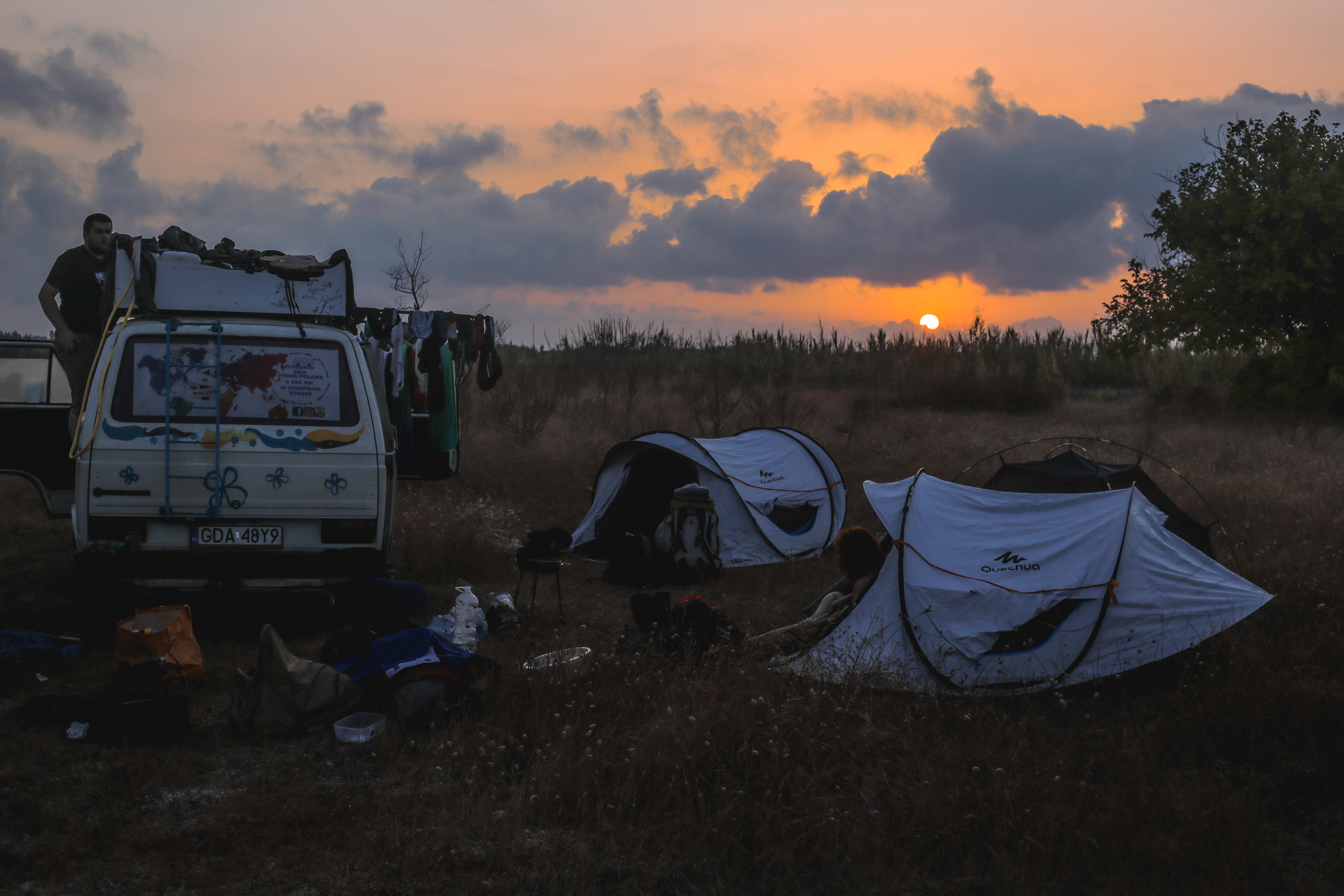 Hiszpański zachód słońca
