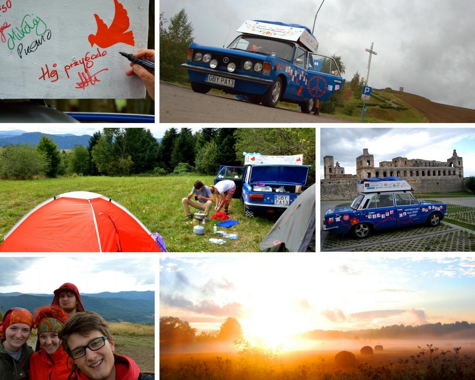 Blog, podróż, Fiat 125p, tanie podróżowanie