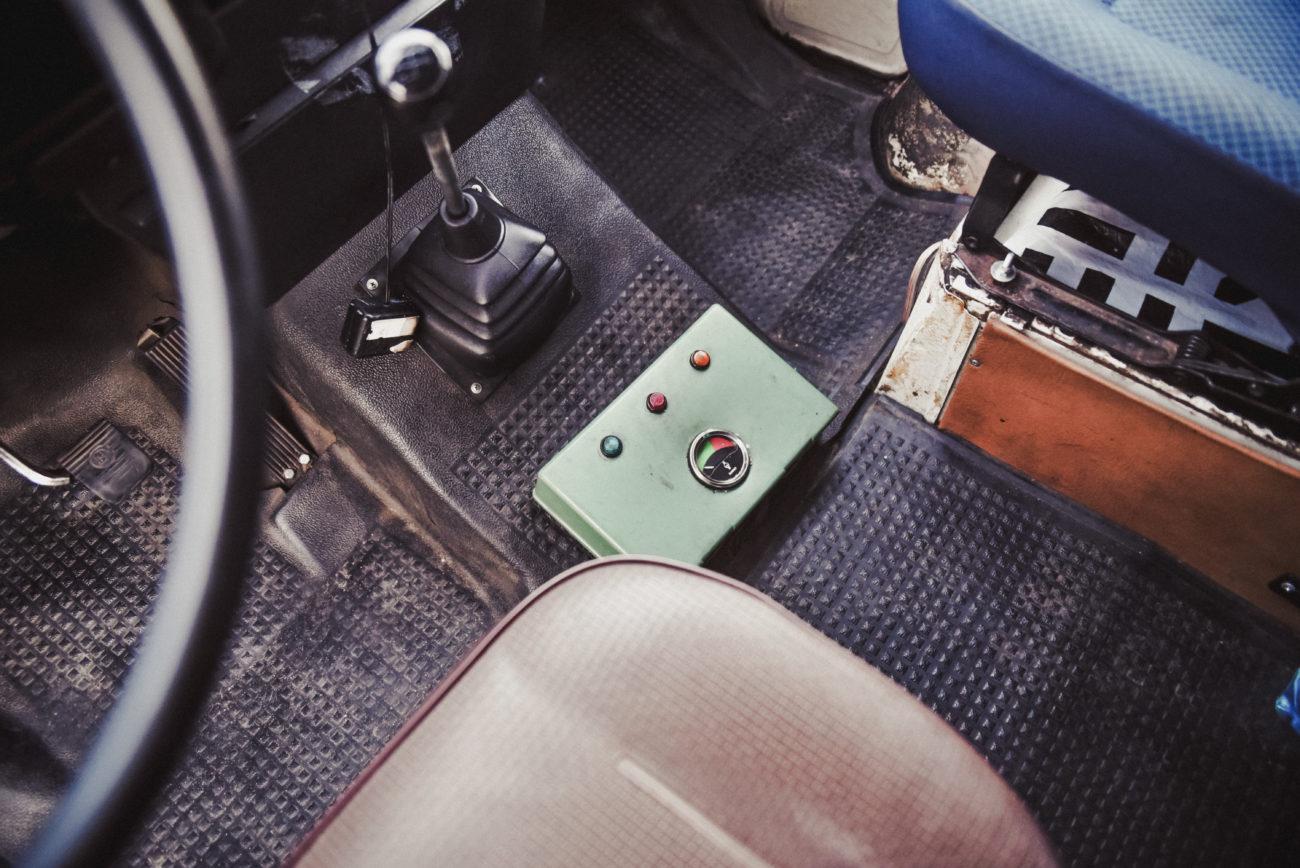 Stacja kontroli pojazdu w zamian za niedziałające zegary
