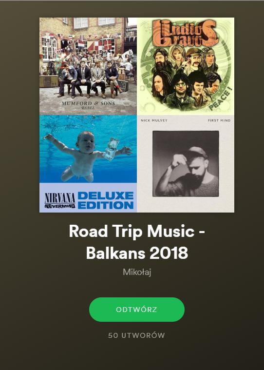 spotify road trip
